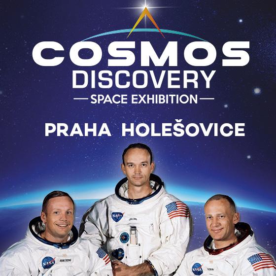 Cosmos Discovery<br>Výstava zrušena od 12.10.
