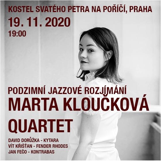 Marta Kloučková Quartet<br>Podzimní jazzové rozjímání