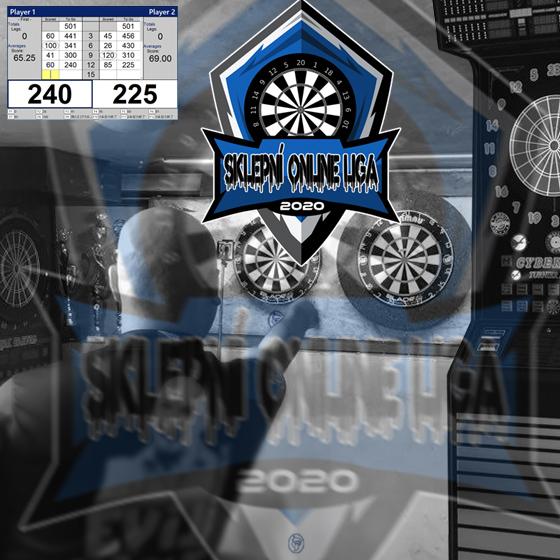 Sklepní online šipková liga družstev 2020