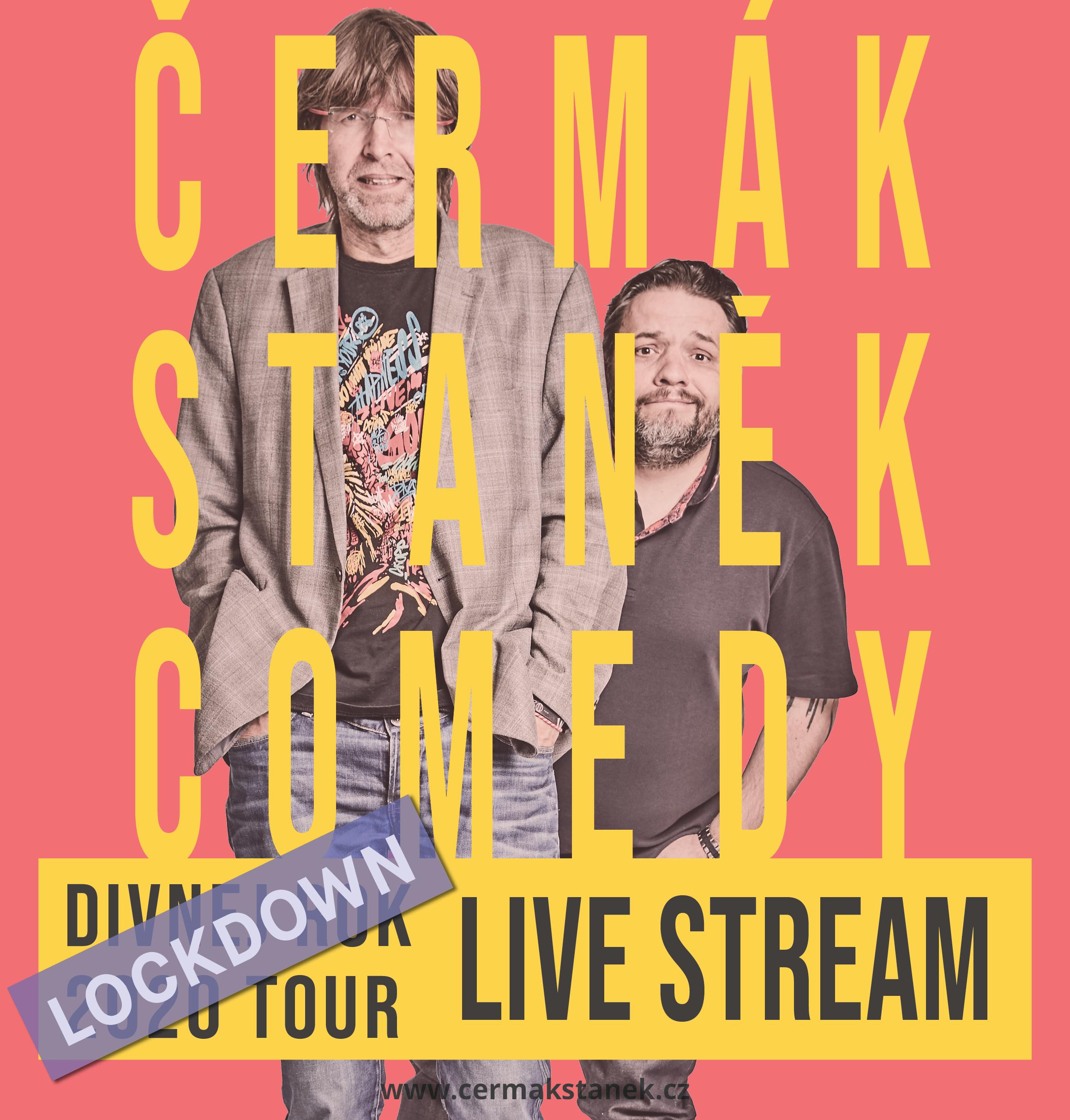 Čermák Staněk Comedy<br>Lockdown Live Stream<br>18.12.2020