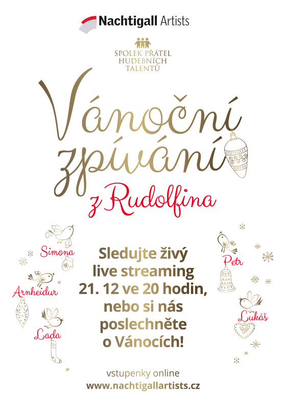 Christmas singing from the Rudolfinum<br>Livestream
