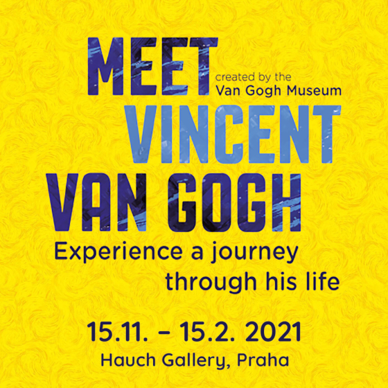 Meet Vincent Van Gogh<br>Experience a journey through his life