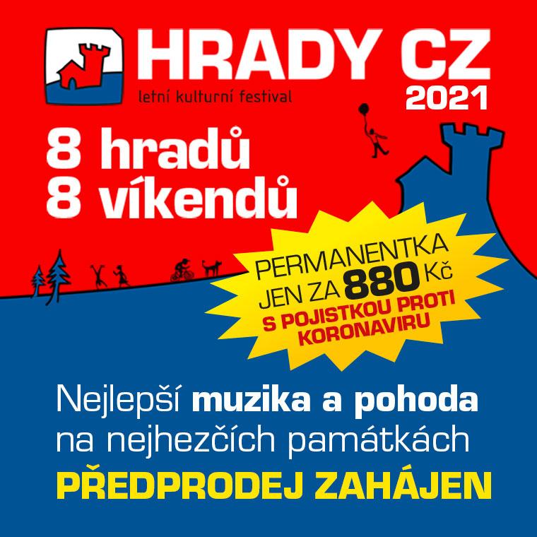 HRADY CZ 2021<BR>Univerzální permanentka