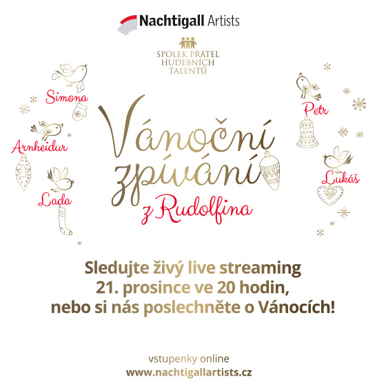 Christmas singing from the Rudolfinum<br>Livestream<br>Record from 21.12.2020