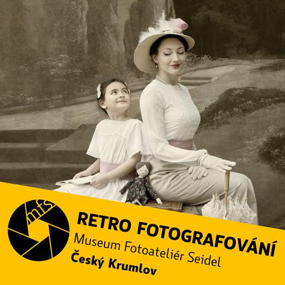 Retro-fotografování v Českém Krumlově<br>Dárkový poukaz