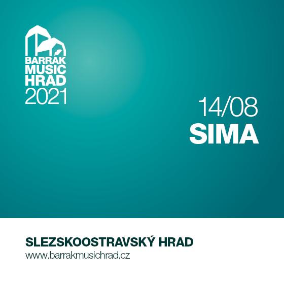 BARRÁK MUSIC HRAD 2021/SIMA/Annabelle- Ostrava -Slezskoostravský hrad Ostrava