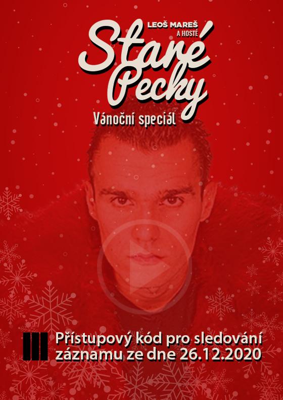 Leoš Mareš<br>Záznam Vánočního speciálu z nového bytu