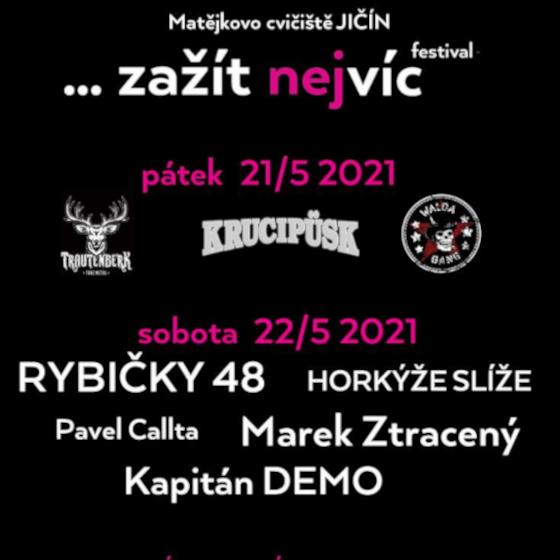 Festival ... Zažít nejvíc<br>Rybičky 48, Pavel Callta, Horkýže Slíže a další.