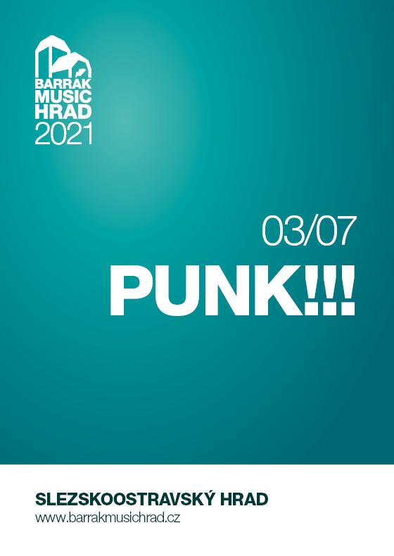 Punk !!!<br>Barrák music hrad 2021