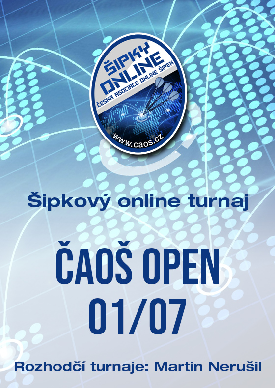Šipkový turnaj - OPEN ČAOŠ 01/07