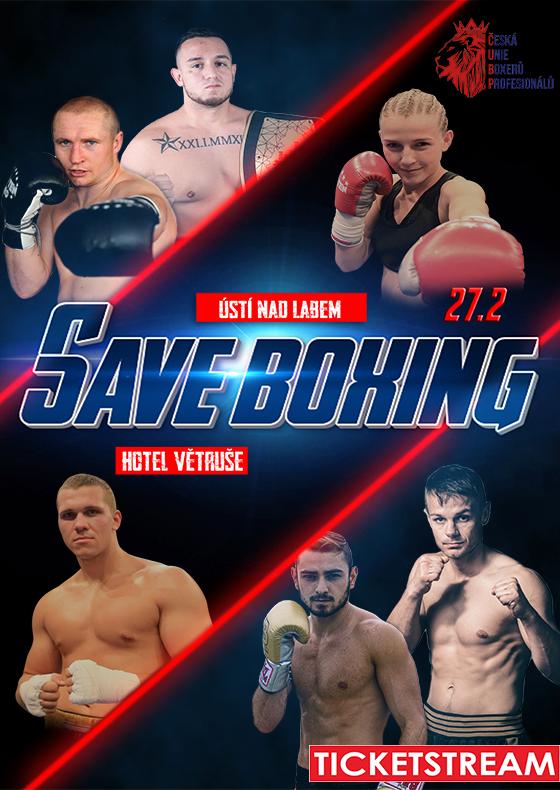 Save Boxing<br>Záznam přenosu mezinárodní sportovní akce