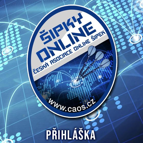 Česká asociace online šipek - Přihláška