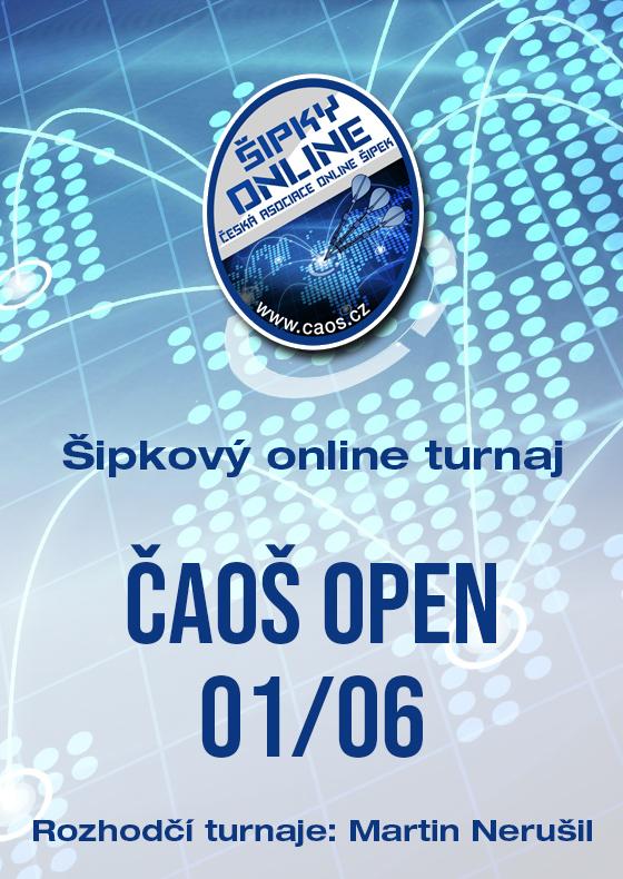 Šipkový turnaj - OPEN ČAOŠ 01/06