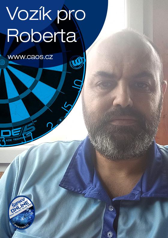 """Šipkový turnaj """"Vozík pro Roberta"""""""