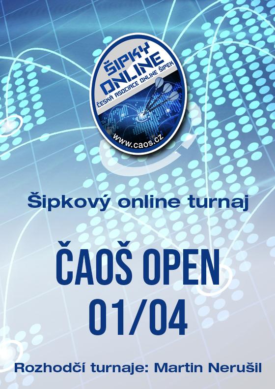 Šipkový turnaj - OPEN ČAOŠ 01/04