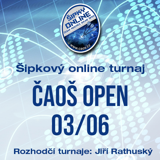 Šipkový turnaj - OPEN ČAOŠ 03/06