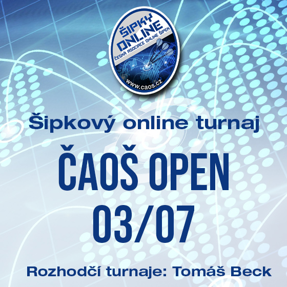 Šipkový turnaj - OPEN ČAOŠ 03/07