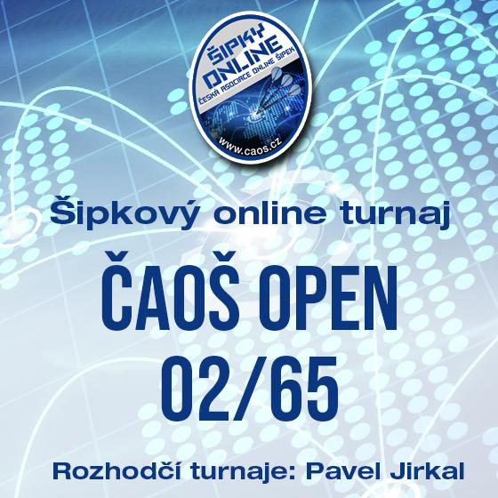 Šipkový turnaj - OPEN ČAOŠ 02/65