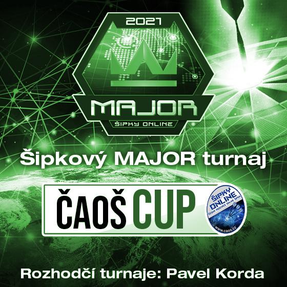 Šipkový MAJOR turnaj/Kategorie Junior/ČAOŠ CUP 2021- Česká republika a Slovensko -Online Česká republika a Slovensko