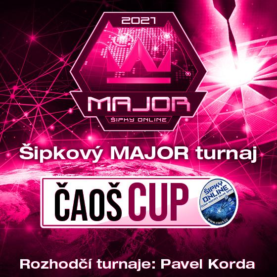 Šipkový MAJOR turnaj/Kategorie Ženy/ČAOŠ CUP 2021- Česká republika a Slovensko -Online Česká republika a Slovensko
