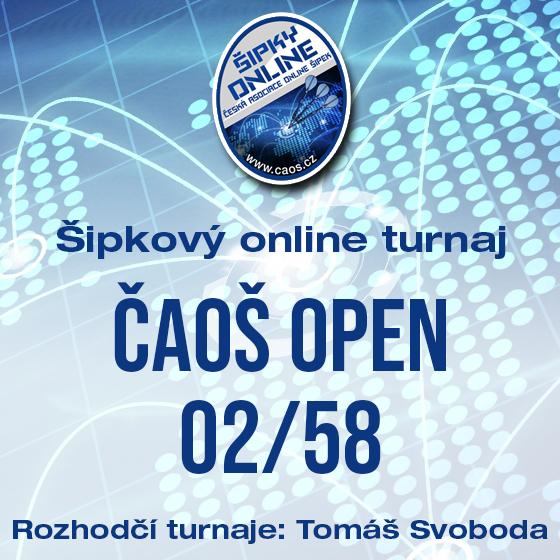OPEN ČAOŠ 02/58- Česká republika a Slovensko -Online Česká republika a Slovensko