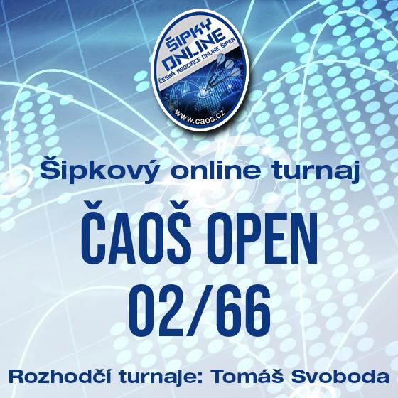 Šipkový turnaj - OPEN ČAOŠ 02/66