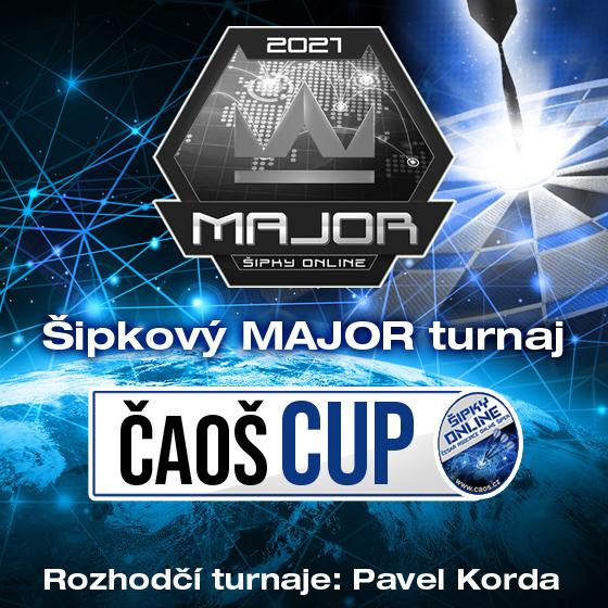 Šipkový MAJOR turnaj/Kategorie Open/ČAOŠ CUP 2021- Česká republika a Slovensko -Online Česká republika a Slovensko