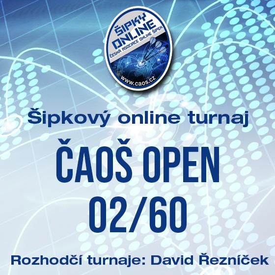 Šipkový turnaj - OPEN ČAOŠ 02/60