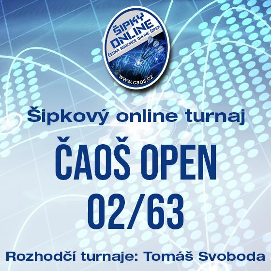 Šipkový turnaj - OPEN ČAOŠ 02/63