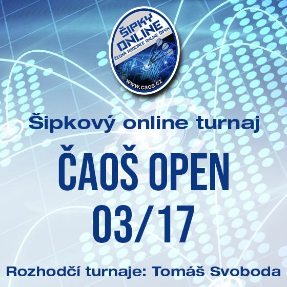 Šipkový turnaj - OPEN ČAOŠ 03/17