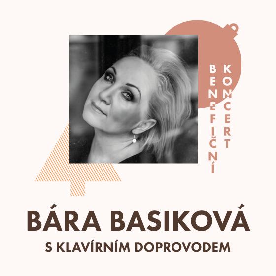 Bára Basiková<br>Benefiční koncert