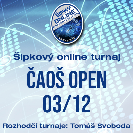 Šipkový turnaj - OPEN ČAOŠ 03/12