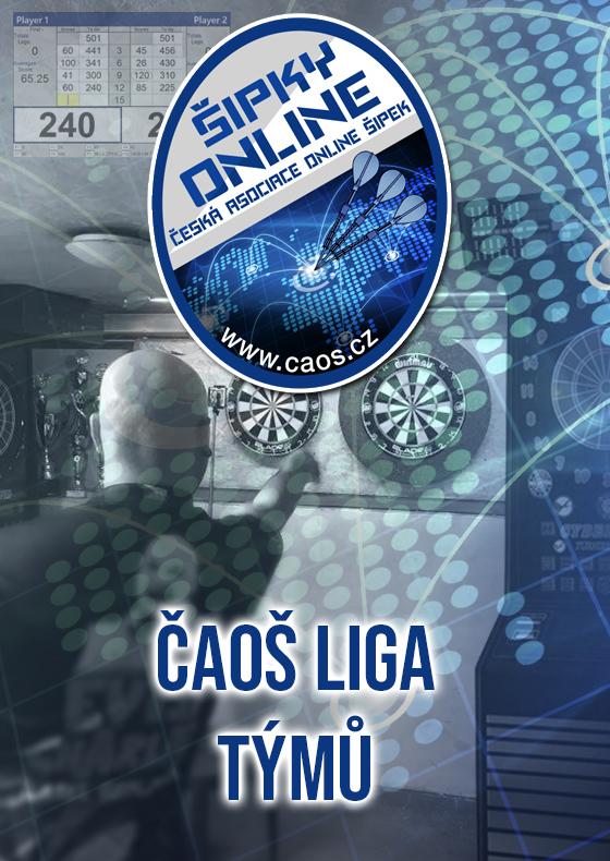 Šipkový turnaj - ČAOŠ ligy týmů 2021