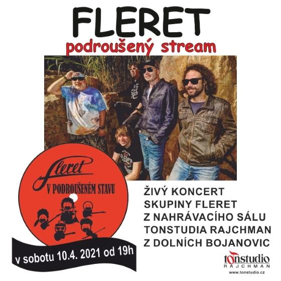 Fleret<BR>Podroušený stream