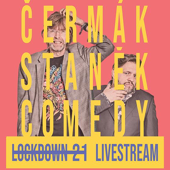 ČERMáK STANěK COMEDY PODCASTLOCKDOWN 21 11.03.2021- ČR -Livestream ČR