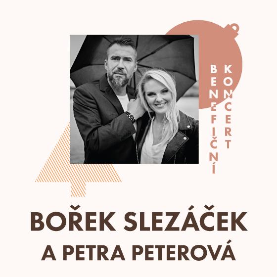 Bořek Slezáček a Petra Peterová<BR>Benefiční koncert