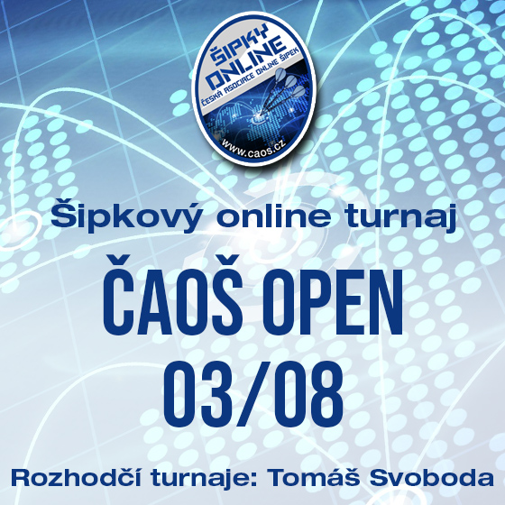 Šipkový turnaj - OPEN ČAOŠ 03/08