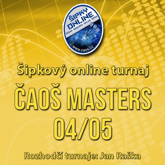 Šipkový turnaj - ČAOŠ MASTERS 04/05