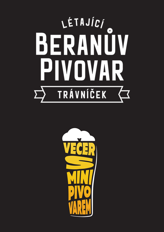 Večer s minipivovarem<br>Létající Beranův Pivovar