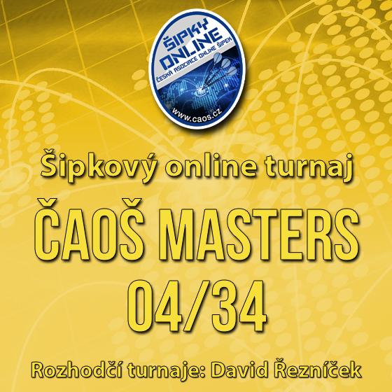 Šipkový turnaj - ČAOŠ MASTERS 04/34