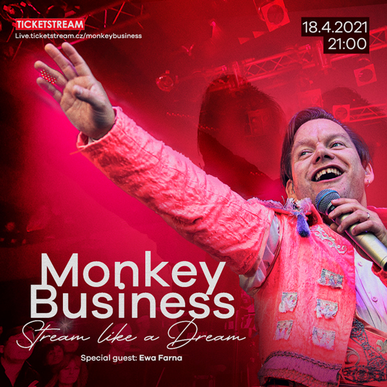 Monkey Business<br>Stream like a dream<Br><b><font color=red>Access code + CD</font></b>