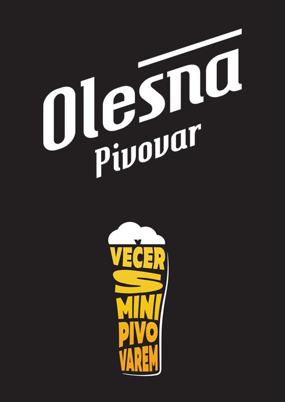 Večer s minipivovarem<br>Pivovar Olešná