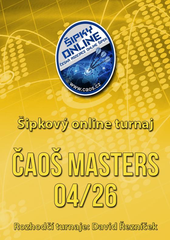 Šipkový turnaj - ČAOŠ MASTERS 04/26