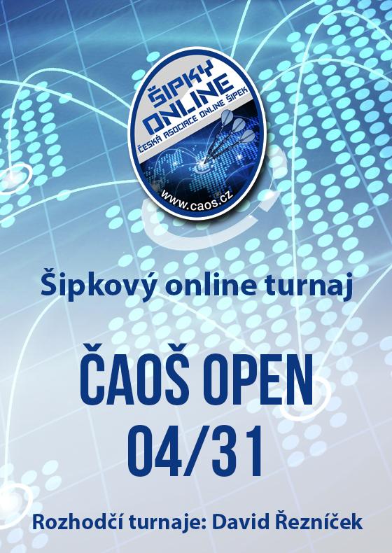 Šipkový turnaj - OPEN ČAOŠ 04/31