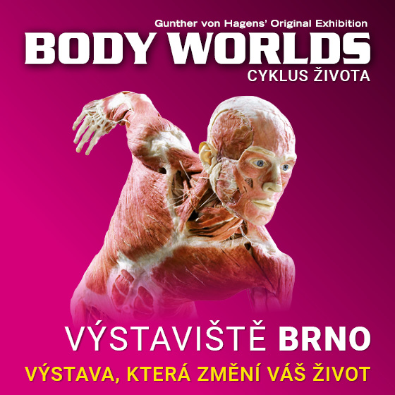 Body Worlds<br>Cyklus života<br>Světová výstava