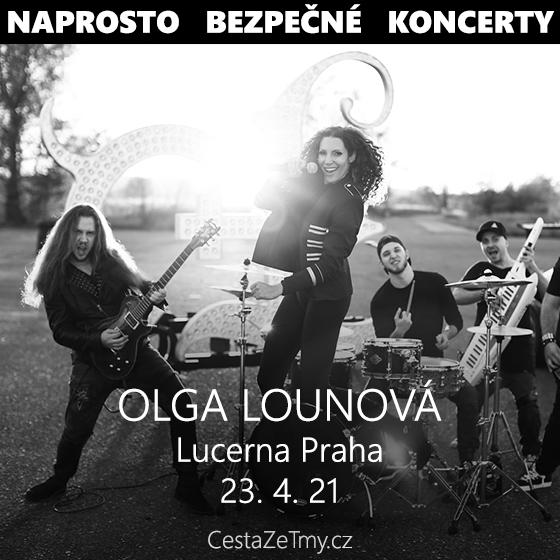 Olga Lounová<br>CESTA ZE TMY v Lucerně