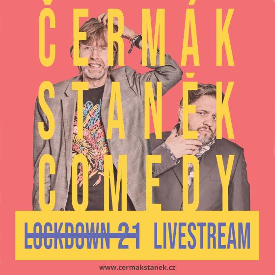 ČERMáK STANěK COMEDY PODCASTLOCKDOWN 21 29.04.2021- ČR -Livestream ČR