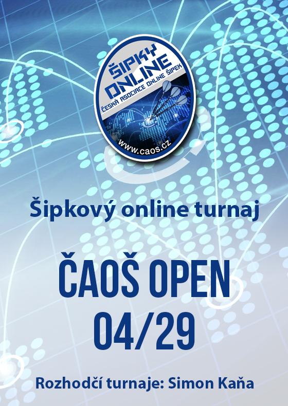 Šipkový turnaj - OPEN ČAOŠ 04/29