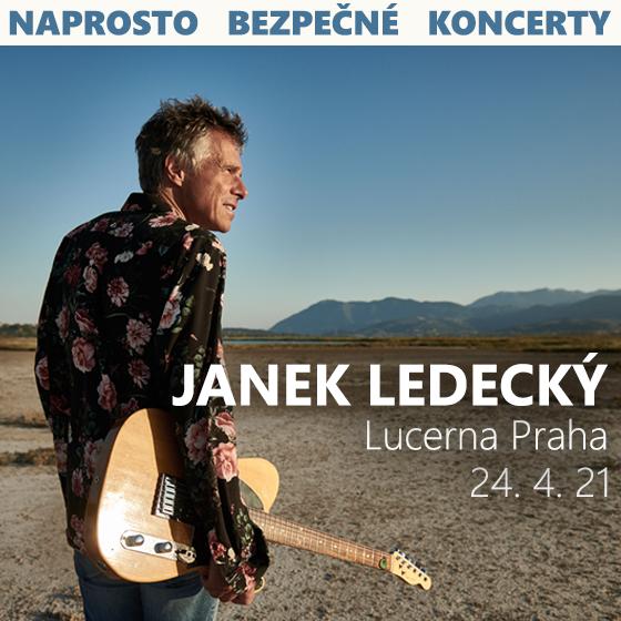Janek Ledecký<br>CESTA ZE TMY v Lucerně