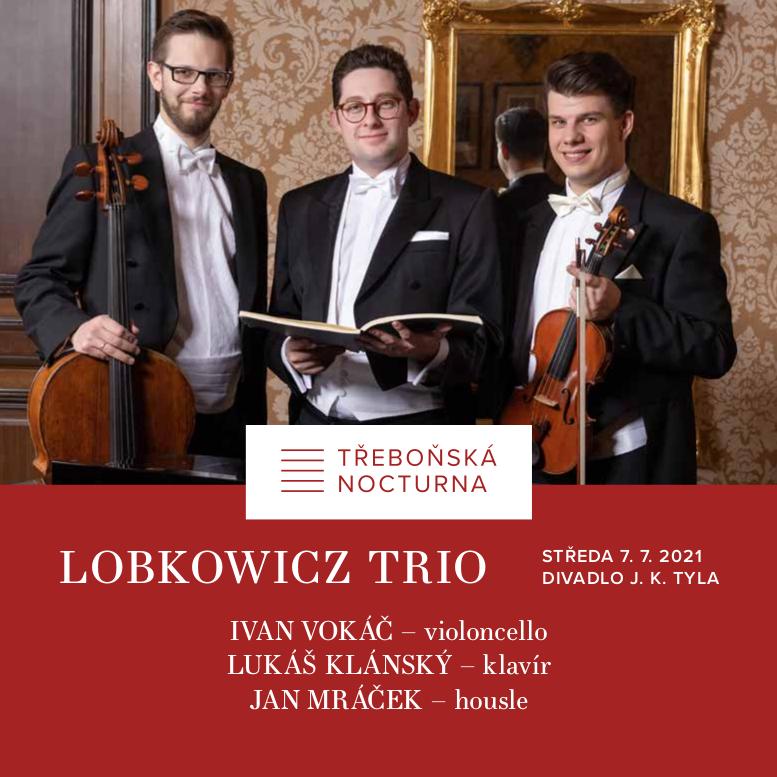 Lobkowicz Trio<br>18. ročník MHF Třeboňská nocturna